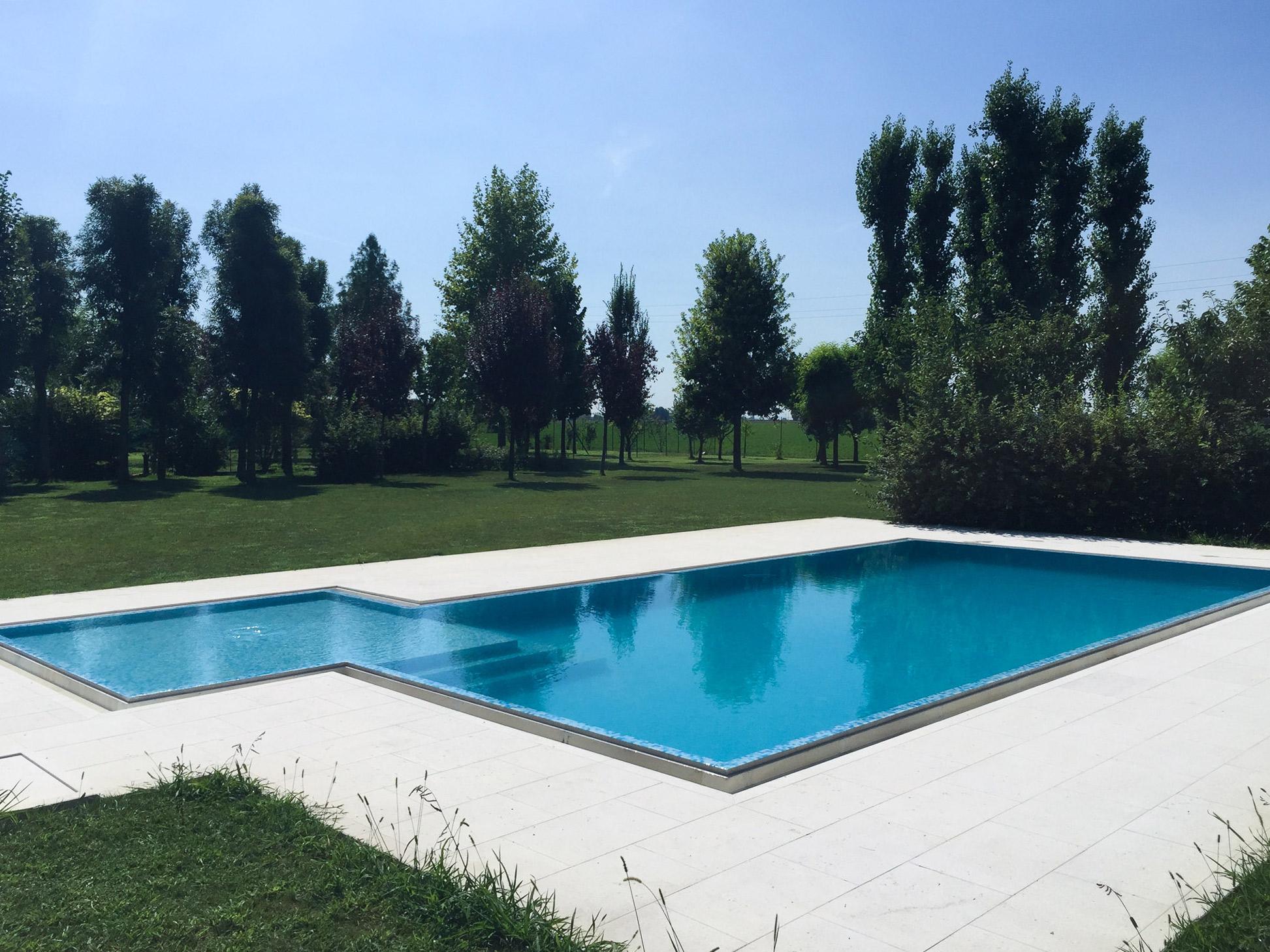 Piscine Sfioro A Cascata piscine - zanini piscine